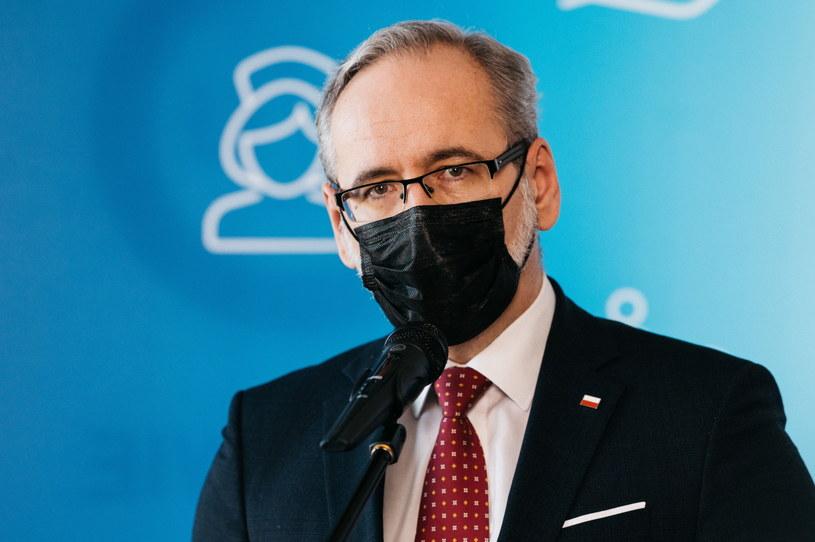 Minister zdrowia Adam Niedzielski /Marcin Gadomski /PAP