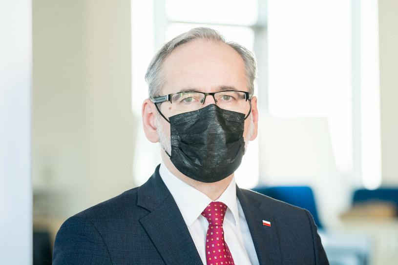 Minister zdrowia Adam Niedzielski /Wojciech Strozyk/REPORTER /Reporter