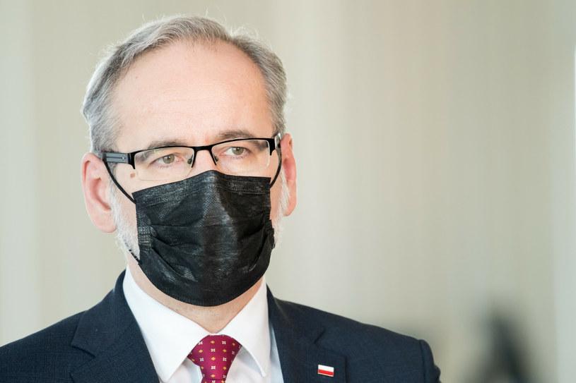 Minister Zdrowia Adam Niedzielski / Wojciech Stróżyk  /Reporter
