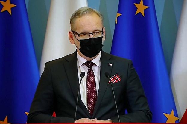 Minister zdrowia, Adam Niedzielski /Wojciech Olkuśnik /PAP