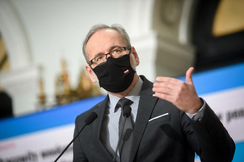 Minister zdrowia Adam Niedzielski /Zbyszek Kaczmarek/REPORTER /Reporter