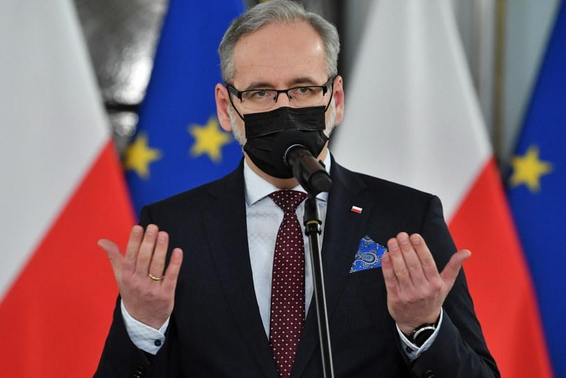 Minister zdrowia Adam Niedzielski /Radek  Pietruszka /PAP