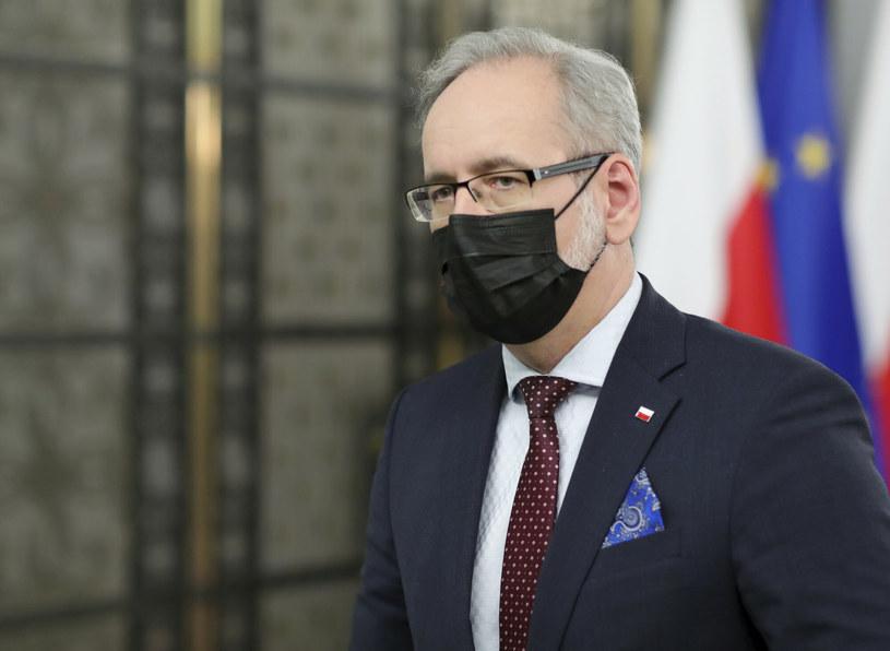 Minister zdrowia Adam Niedzielski /Piotr Molecki/East News /East News