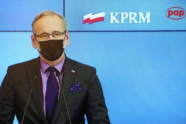 Minister zdrowia Adam Niedzielski / Leszek Szymański    /PAP