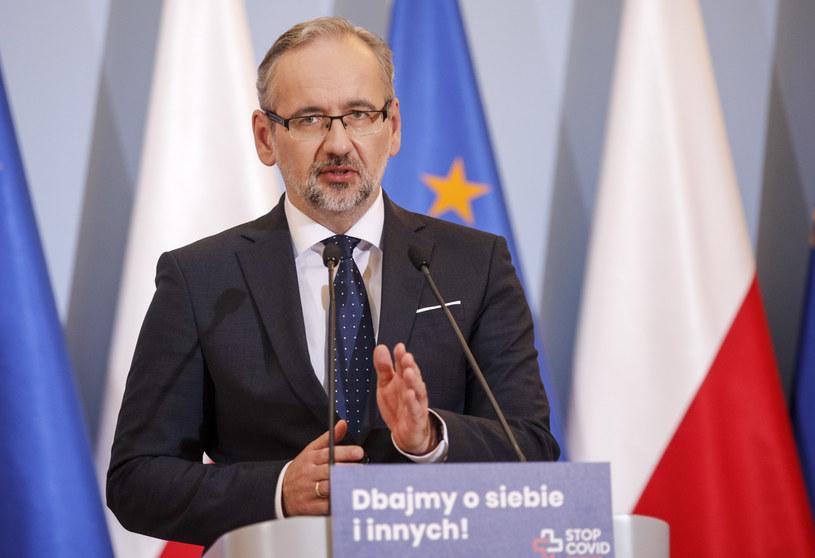 Minister zdrowia Adam Niedzielski /Dudek Jerzy /Agencja FORUM
