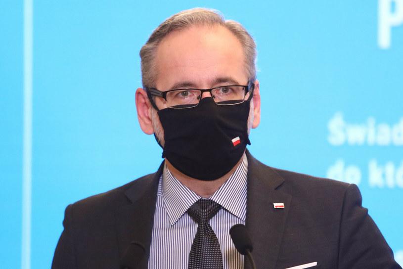 Minister zdrowia Adam Niedzielski /Tomasz Jastrzębowski /Reporter