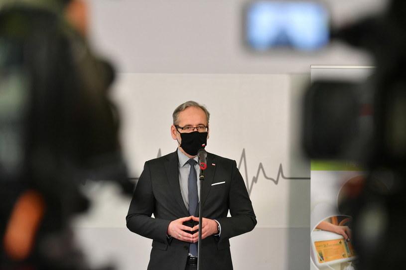 Minister zdrowia Adam Niedzielski /Wojtek Jargiło /PAP