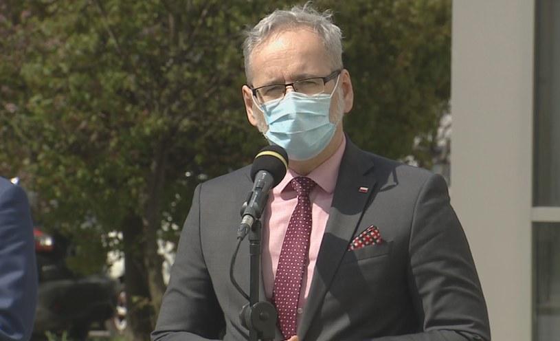 Minister zdrowia Adam Niedzielski /Screen z Polsat News /Polsat News