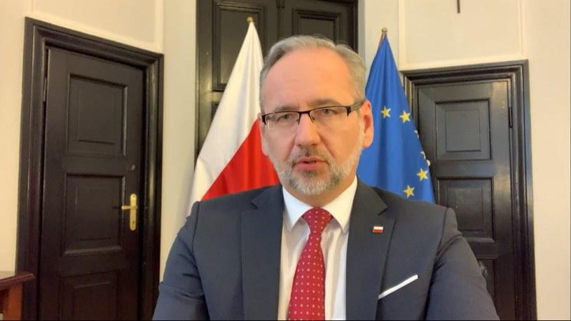 Minister zdrowia Adam Niedzielski /Polsat News /