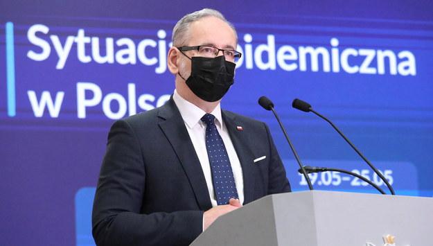 Minister zdrowia Adam Niedzielski / Tomasz Gzell    /PAP