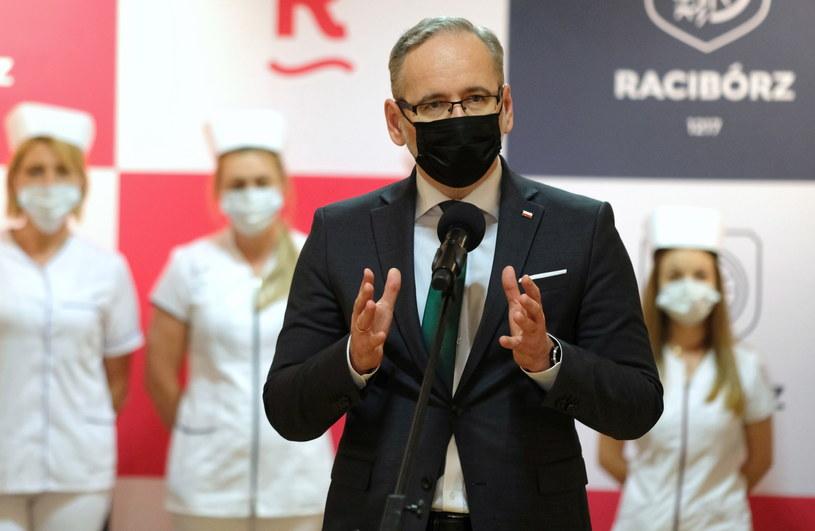 Minister zdrowia Adam Niedzielski / PAP/Andrzej Grygiel /PAP