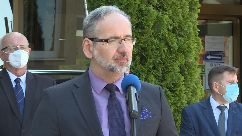 Minister zdrowia Adam Niedzielski /Polsat /Polsat News
