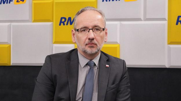 Minister zdrowia Adam Niedzielski /Piotr Szydłowski /RMF FM