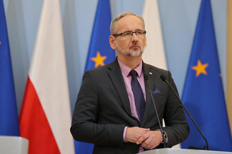 Minister zdrowia Adam Niedzielski /Jacek Domiński /Reporter