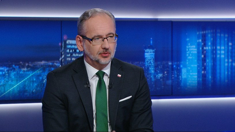 Minister zdrowia Adam Niedzielski /Polsat News