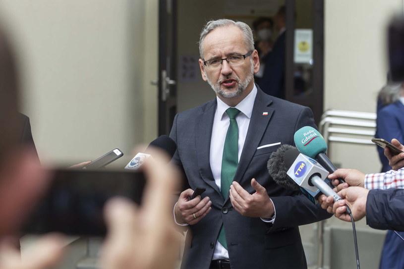 Minister zdrowia Adam Niedzielski /Piotr Wittman /PAP
