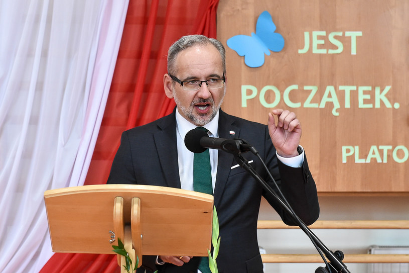 Minister zdrowia Adam Niedzielski /Łukasz Dejnarowicz /Agencja FORUM