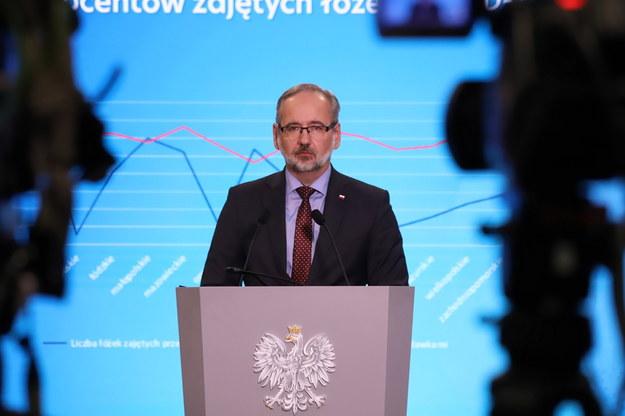 Minister zdrowia Adam Niedzielski /Zofia Bichniewicz /PAP