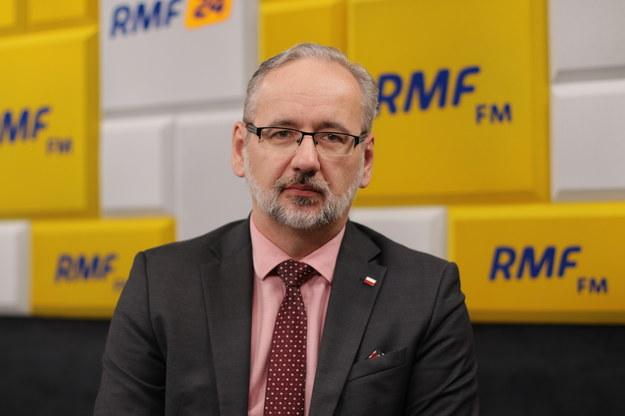 Minister zdrowia Adam Niedzielski /Karolina Bereza /RMF FM
