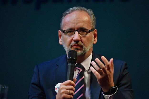 Minister zdrowia Adam Niedzielski /Piotr Polak /PAP
