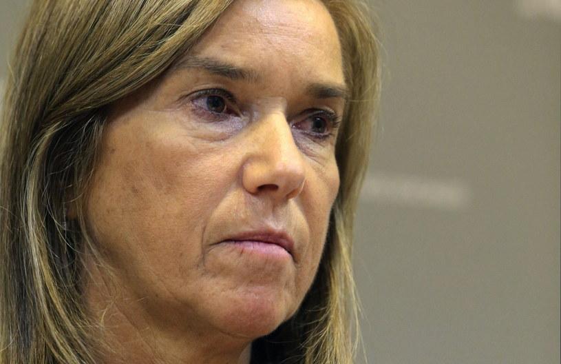 Minister zdrowia Ana Mato /Ballesteros    /PAP/EPA