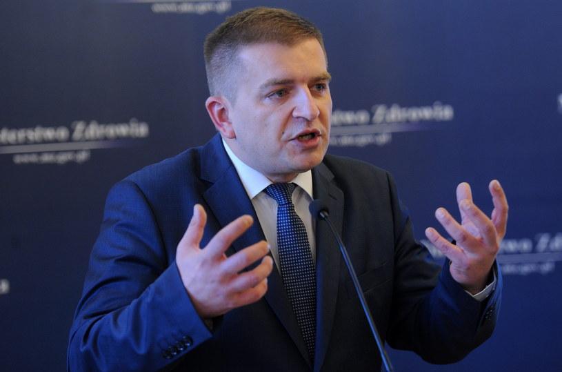 Minister zdrowia Bartosz Arłukowicz /Bartłomiej Zborowski /PAP