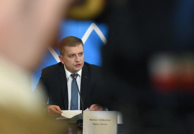 Minister zdrowia Bartosz Arłukowicz /PAP/Radek Pietruszka    /PAP