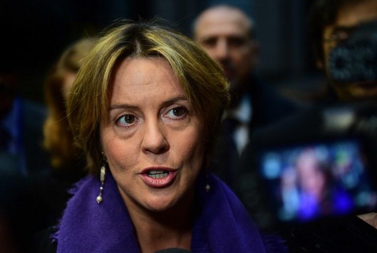 Minister zdrowia Beatrice Lorenzin mówiła o karygodnych zaniedbaniach. /AFP