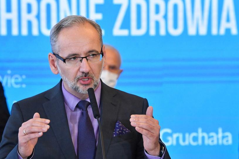 Minister zdrowia dr Adam Niedzielski / Radek Pietruszka   /PAP