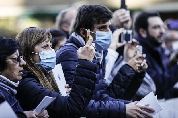 Minister zdrowia: dwa ogniska koronawirusa, przezwyciężymy kryzys /Fabio Frustaci /PAP/EPA