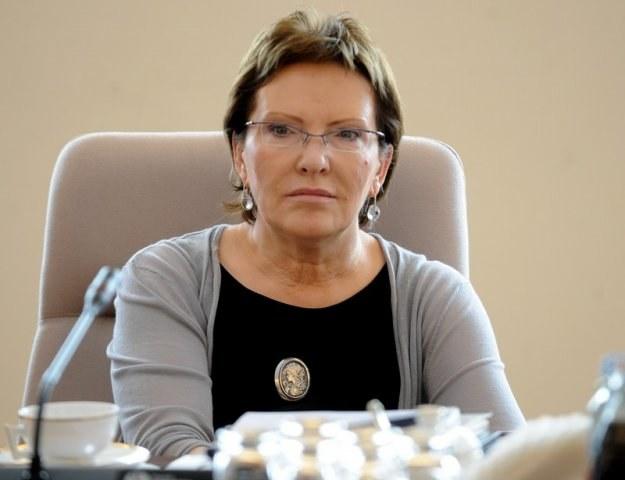 Minister zdrowia Ewa Kopacz, fot. M. Rozbicki /Agencja SE/East News