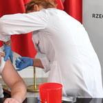 Minister zdrowia i marszałek Senatu zaszczepili się przeciwko grypie