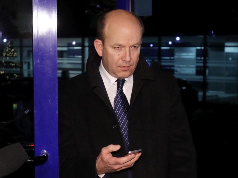 Minister zdrowia Konstanty Radziwiłł przed spotkaniem z rezydentami /Paweł Supernak /PAP