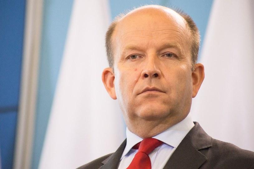 Minister zdrowia Konstanty Radziwiłł /Maciej Luczniewski /Reporter