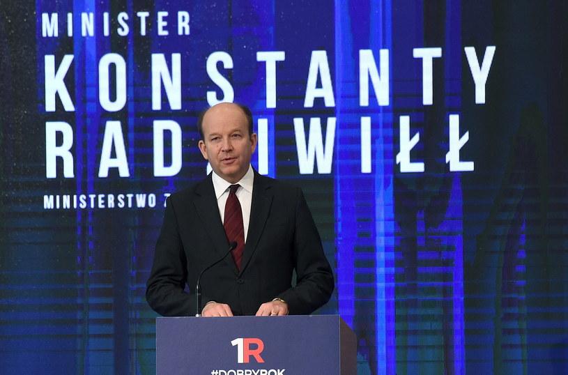 Minister zdrowia Konstanty Radziwiłł /Radek Pietruszka /PAP