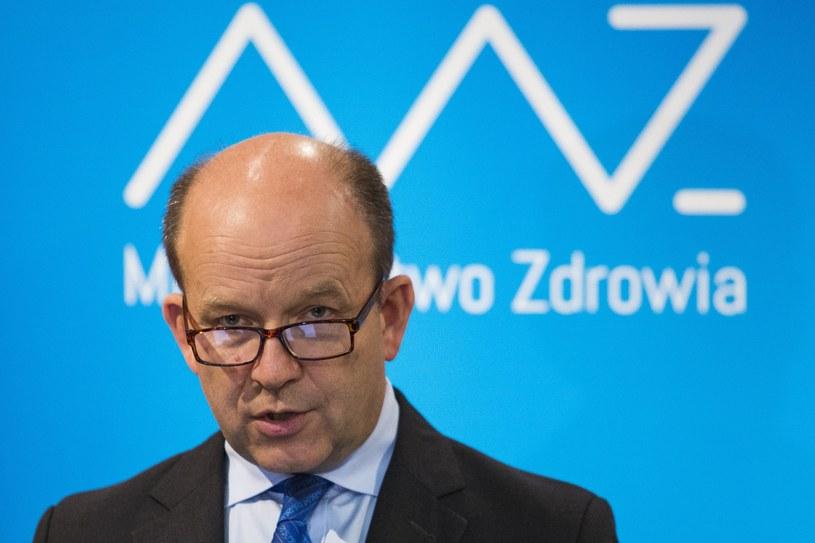 Minister zdrowia Konstanty Radziwiłł /Andrzej Hulimka  /Reporter