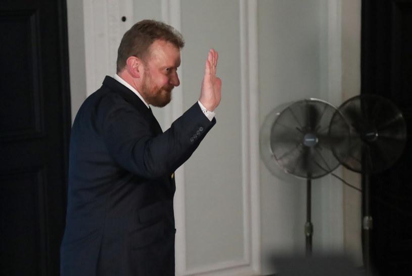Minister zdrowia Łukasz Szumowski poinformował o swojej rezygnacji /Wojciech Olkuśnik /PAP