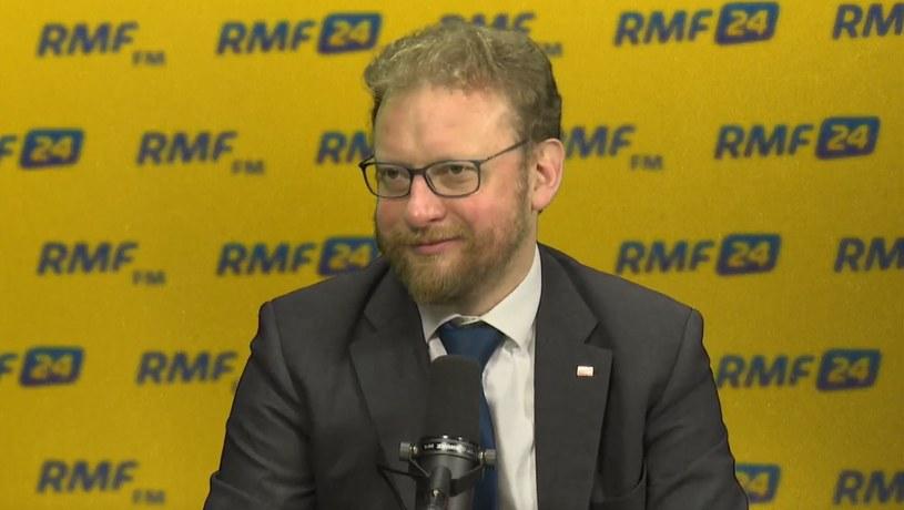 Minister zdrowia Łukasz Szumowski w RMF FM /RMF