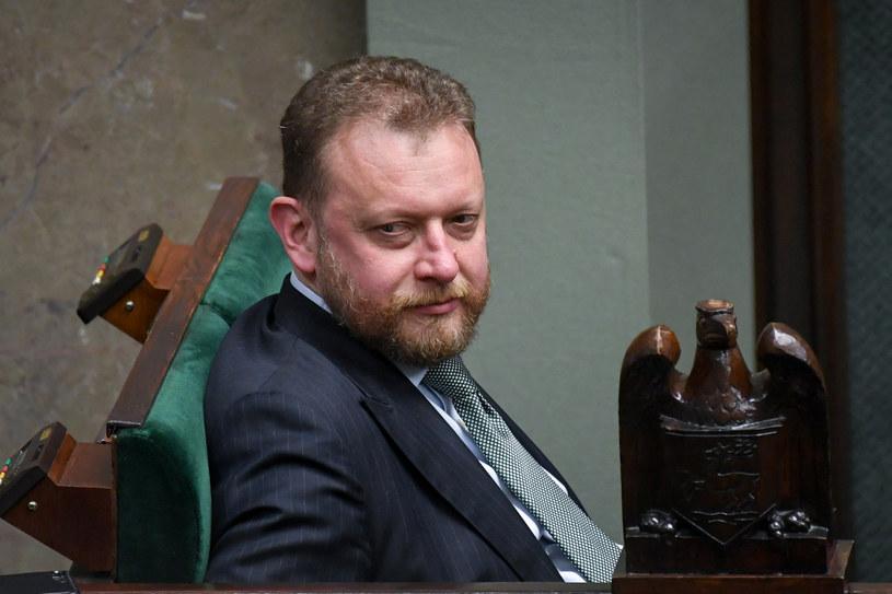 Minister zdrowia Łukasz Szumowski w Sejmie /Jacek Dominski/ /Reporter