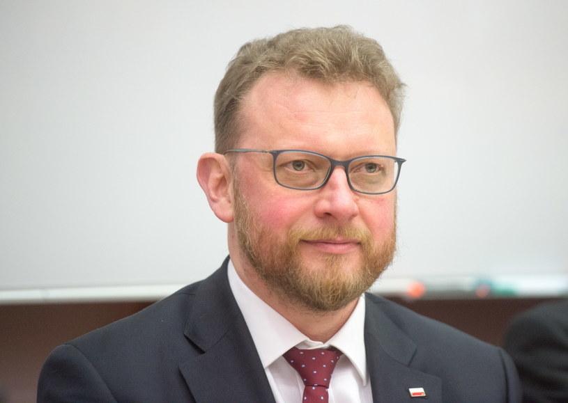 Minister zdrowia Łukasz Szumowski / Grzegorz Michałowski    /PAP
