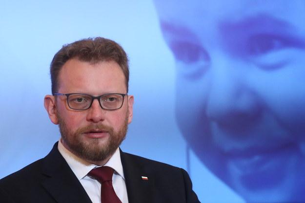Minister zdrowia Łukasz Szumowski /PAP