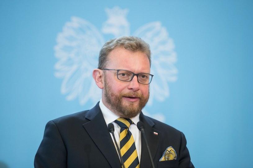 Minister zdrowia Łukasz Szumowski /Aleksandra Szmigiel/REPORTER /Reporter