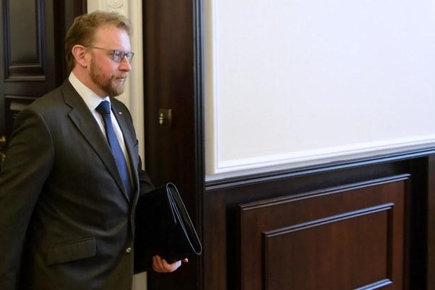 Minister zdrowia Łukasz Szumowski / Jakub Kamiński    /PAP