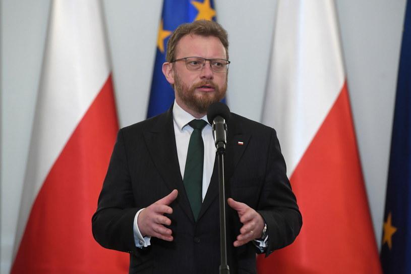 Minister zdrowia Łukasz Szumowski / Radek Pietruszka   /PAP