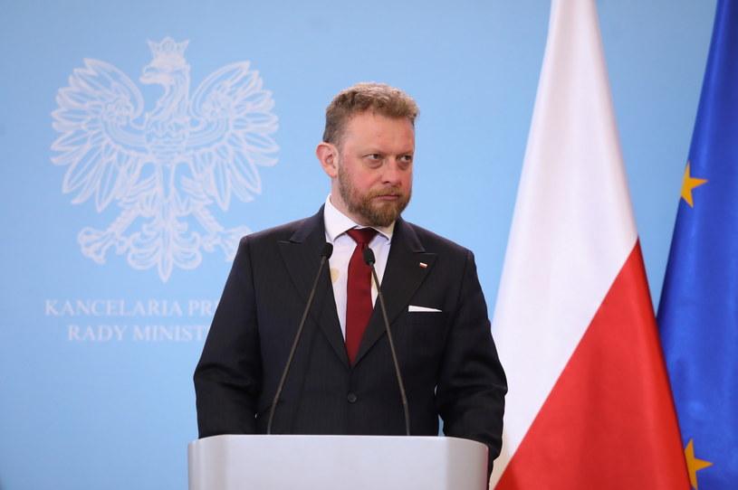 Minister zdrowia Łukasz Szumowski / Tomasz Gzell    /PAP