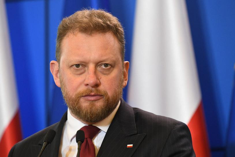 Minister zdrowia Łukasz Szumowski /Rafał Oleksiewicz /Reporter
