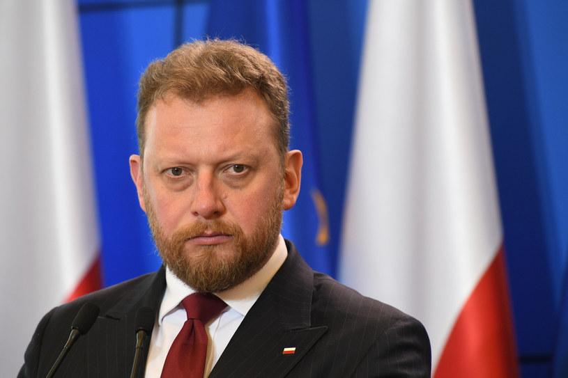 Minister zdrowia Łukasz Szumowski /Rafal Oleksiewicz /Reporter