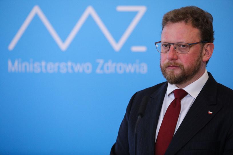 Minister zdrowia Łukasz Szumowski /Andrzej Hulimka  /Agencja FORUM