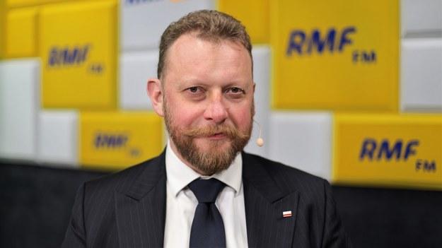 Minister zdrowia - Łukasz Szumowski /Michał Dukaczewski /RMF FM