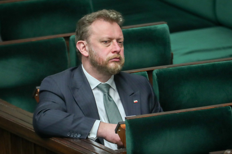 Minister zdrowia Łukasz Szumowski /fot. Andrzej Iwanczuk/REPORTER /Reporter